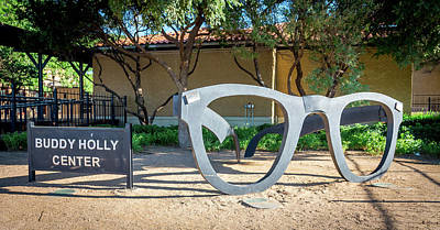 Photograph - Buddy Holly Center by Adam Reinhart