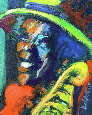 Painting - Buddy by Les Leffingwell