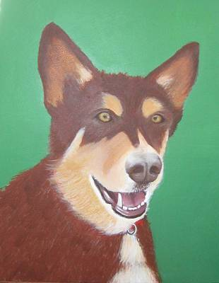 Painting - Buddy by Lorraine Bradford