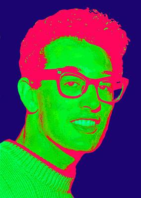 1950s Singer Digital Art - Buddy by Martin James