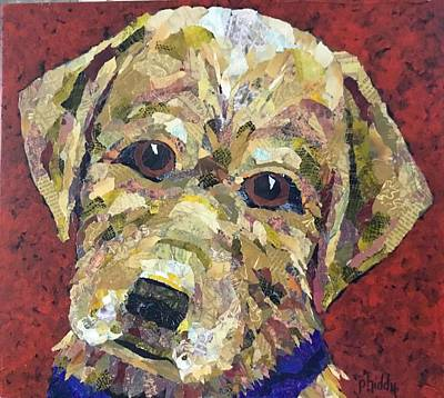 Painting - Buddy by Phiddy Webb