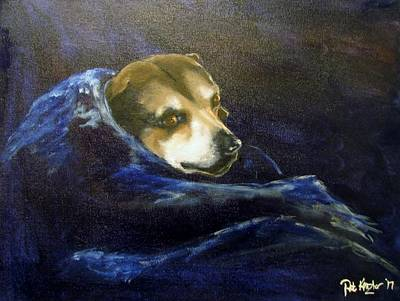 Painting - Buddy Rest In Peace by Patricia Kanzler