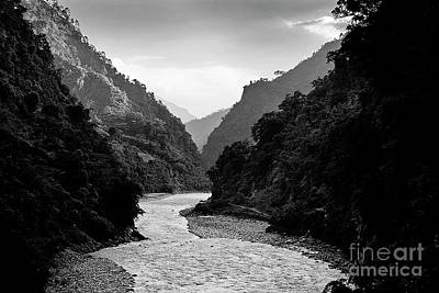 Photograph - Budhi Gandaki River by Craig Lovell