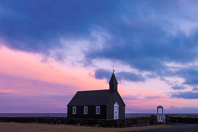 Photograph - Budir Black Church by Pradeep Raja Prints