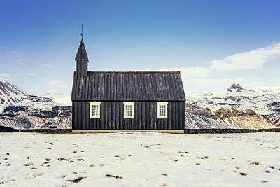 Photograph - Budir Church by James Billings