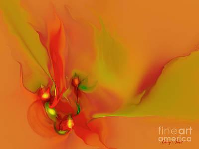 Grow Digital Art - Buds by Corey Ford