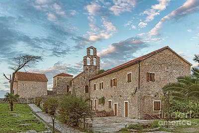 Photograph - Budva Stari Grad Churches by Antony McAulay