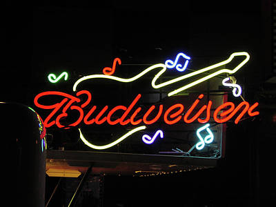 Photograph - Budweiser Rocks by Mike Martin