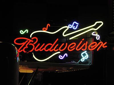 Photograph - Budweiser Rocks by Mike Martin