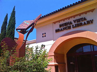 Photograph - Buena Vista Branch Library by Denise Mazzocco