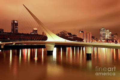 Buenos Aires On Fire Art Print