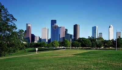 Buffalo Bayou Park - Houston Art Print by Mountain Dreams
