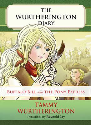 Buffalo Bill And The Pony Express Art Print by Reynold Jay