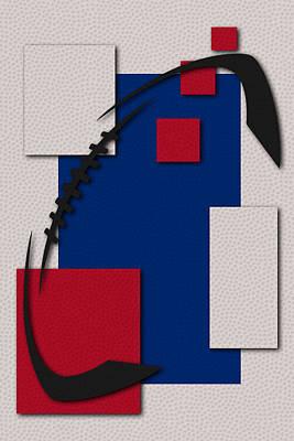 Football Painting - Buffalo Bills Football Art by Joe Hamilton