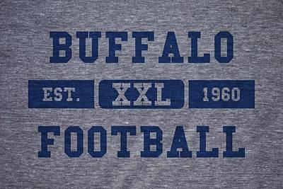 Buffalo Bills Wall Art - Photograph - Buffalo Bills Retro Shirt by Joe Hamilton