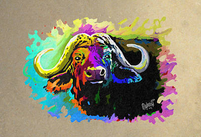Buffalo Boss Original by Anthony Mwangi