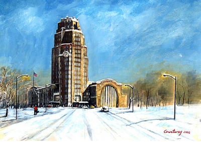 Buffalo Central Terminal Print by John Countway