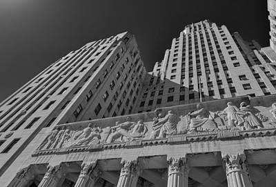 Photograph - Buffalo City Hall 4327b by Guy Whiteley
