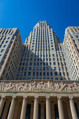 Photograph - Buffalo City Hall 4329 by Guy Whiteley