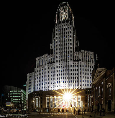 Photograph - Buffalo City Hall by Richard Engelbrecht
