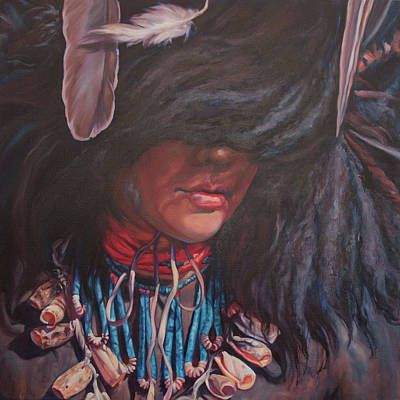 Painting - Buffalo Dancer by Christine Lytwynczuk