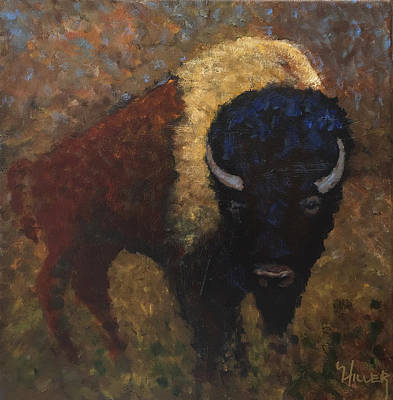Buffalo Dream Original by Linda Hiller