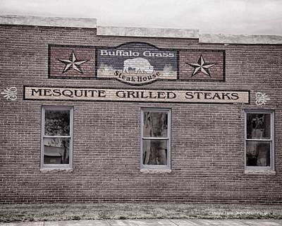 Photograph - Buffalo Grasss by Charles McKelroy