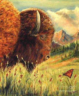 Buffalo Home Art Print