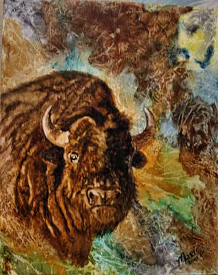 Buffalo Art Print by Maris Sherwood