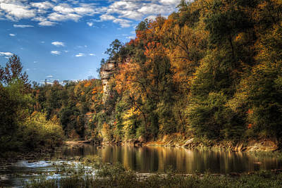 Photograph - Buffalo National River by James Barber