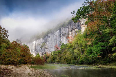 Buffalo River Autumn Art Print