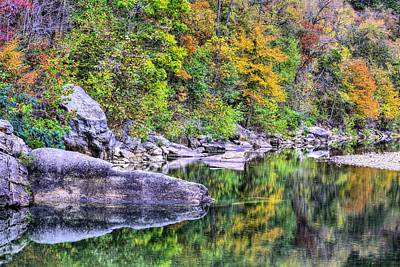 Photograph - Buffalo River Autumn by JC Findley