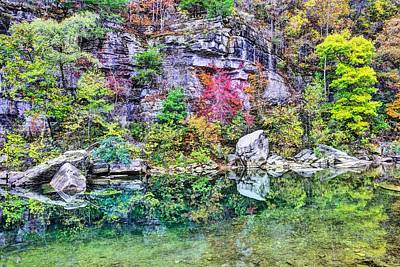 Photograph - Buffalo River Green by JC Findley