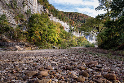 Photograph - Buffalo River Low Water by James Barber