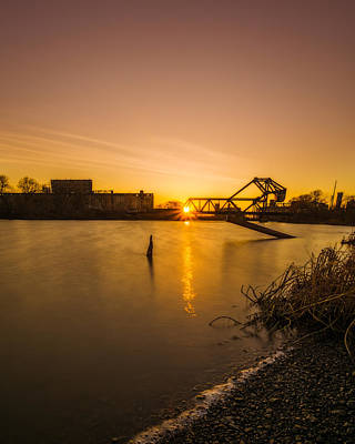Photograph - Buffalo River Sunset by Chris Bordeleau