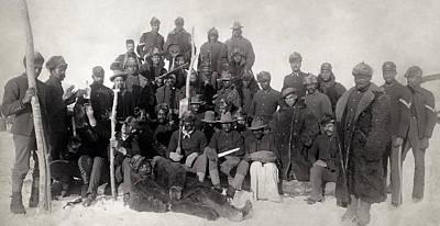 Buffalo Soldiers 1890 Art Print