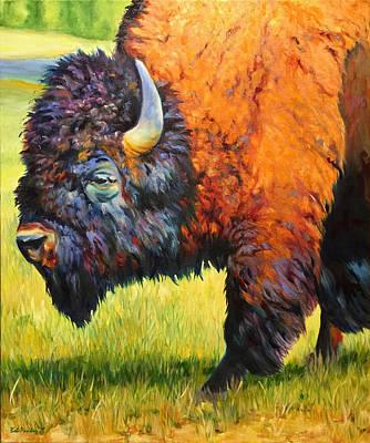 Buffalo Sunning Original