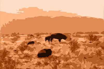 Photograph - Buffalo Sunrise by Kathleen Stephens