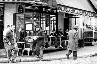 Photograph - Buffets Chauds And Froids Paris by John Rizzuto
