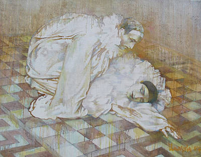 Buffoons Art Print by Tanya Ilyakhova