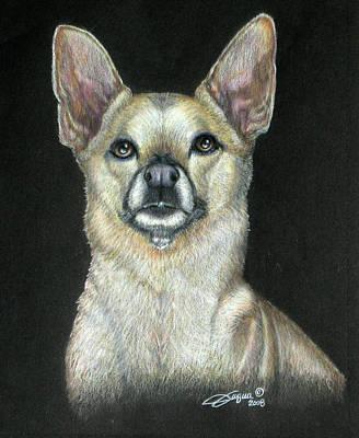 Fuqua - Artwork Drawing - Buffy by Beverly Fuqua