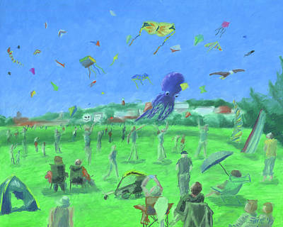 Pastel - Bug Light Kite Festival by Dominic White