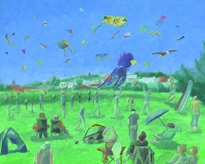 Pastel - Bug Light Kite Festival by Dominic White