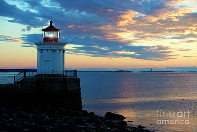 Photograph - Bug Light, Portland Maine by Diane Diederich