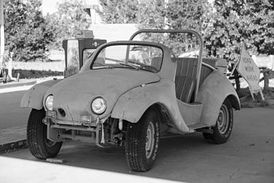 Photograph - Bug Looking Car Route 66 by John McGraw