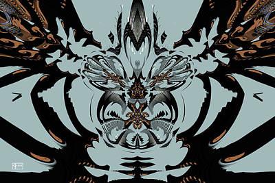 Digital Art - Bug Ugly by Jim Pavelle
