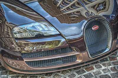 Photograph - Bugatti Beverly Hills by David Zanzinger