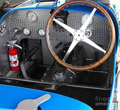 Photograph - Bugatti Dashboard by Neil Zimmerman