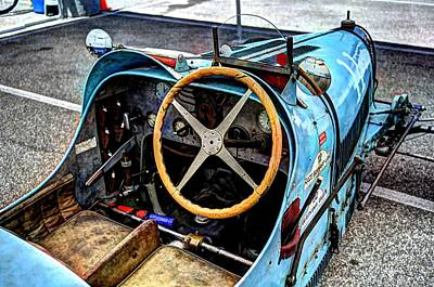 Photograph - Bugatti Driver Side 1925 by Josh Williams