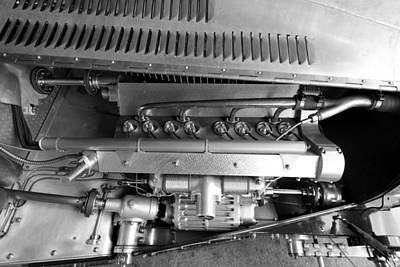 Photograph - Bugatti Engine by Robert Phelan